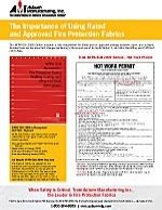 The Importance of Using Rated and Approved Fire Protection Fabrics Thumbnail