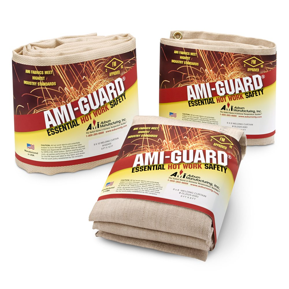 Fm Approved Welding Blankets Ami Guard Hot Work Protection