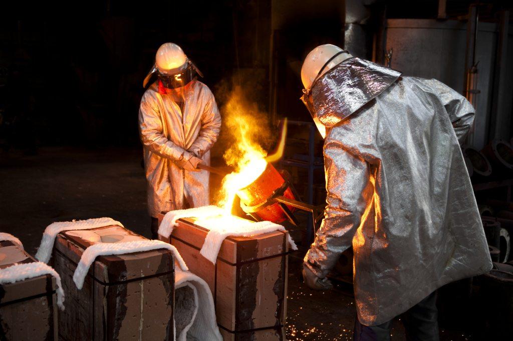 How can heat start a fabric fire?