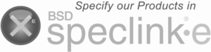 Specify our Products in BSD speclinke